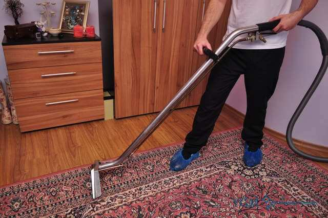 professional carpet cleaners Saughall Massie