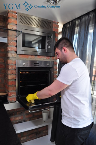 Half Acre professional oven cleaning
